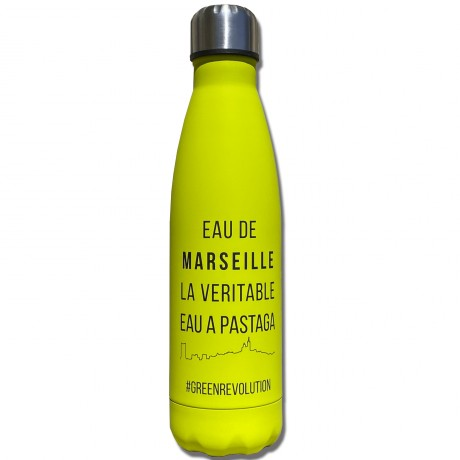 Gourde eau de Marseille
