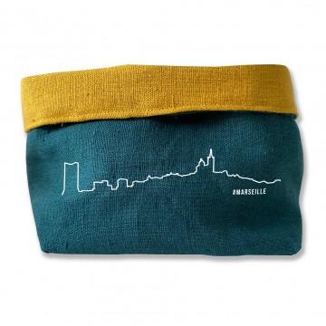 Vide poches skyline en Lin