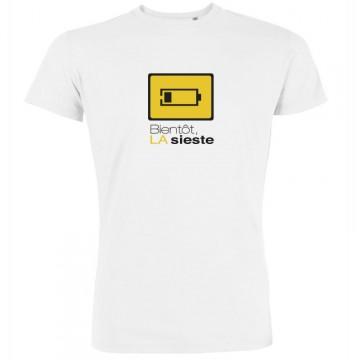 T-shirt Bientôt la sieste