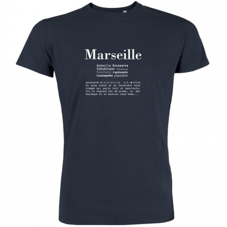 T-shirt Definition de Marseille