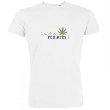 T-shirt legalize romarin