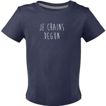 T-shirt je crains dégun