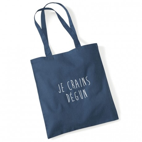 Tote bag je crains dégun