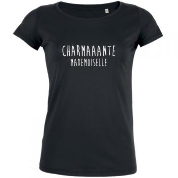 Tshirt charmante mademoiselle