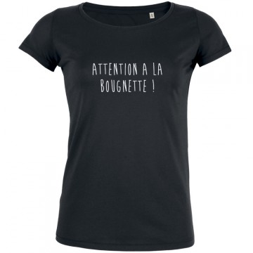 T-shirt attention à la bougnette