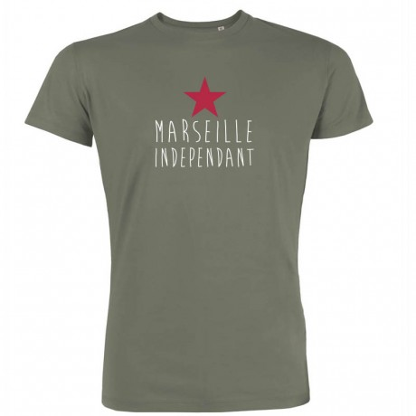 T-shirt homme  Marseille Independant