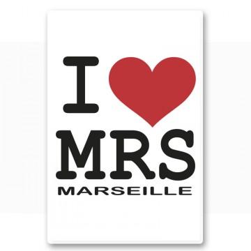 Magnet I love Marseille