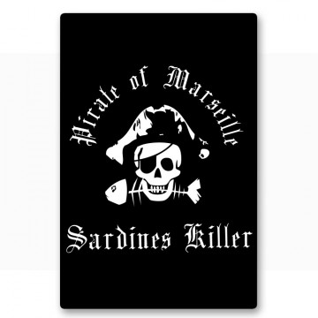 Magnet pirate of Marseille Sardine Killer