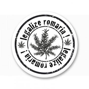 Magnet legalize Romarin