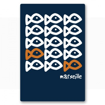 Magnet picto poissons