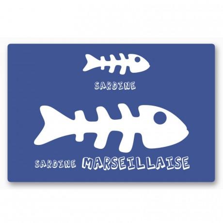 Magnet sardine marseillaise