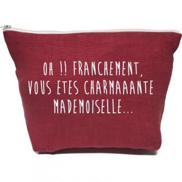 Grande pochette Charmante Mademoiselle