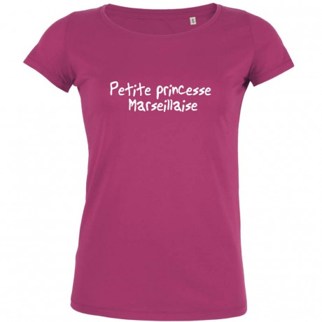 Tshirt petite princesse marseillaise