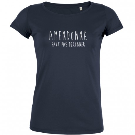 T-shirt Amendonné