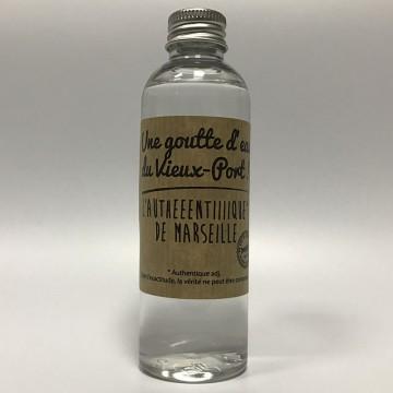 Marseille en bouteille eau du vieux port