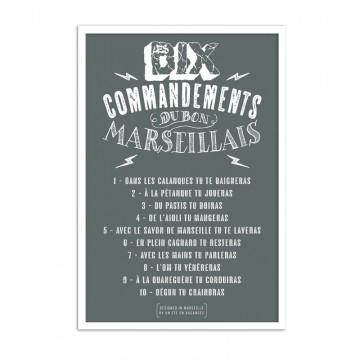 Affiche 10 commandements
