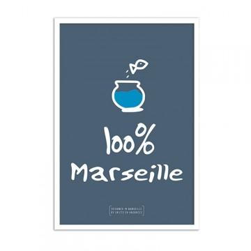 Affiche marseille Bocal