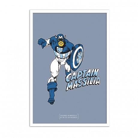 Affiche Captain Massilia