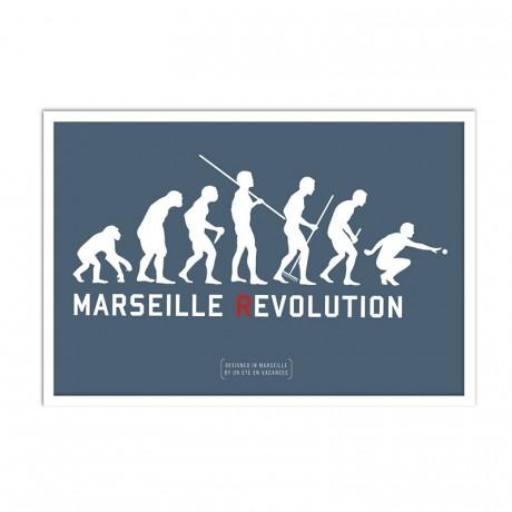 Affiche Evolution marseillaise