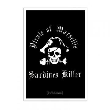 affiche Pirate sardine