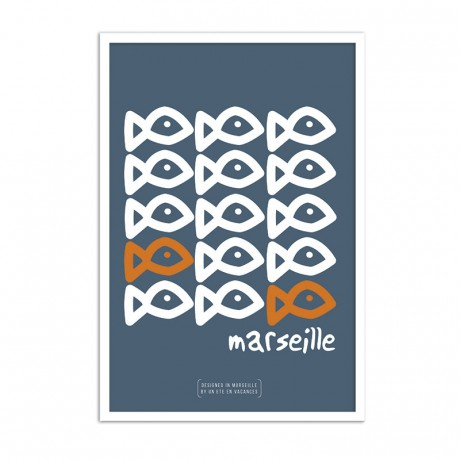 Affiche poisson sardine