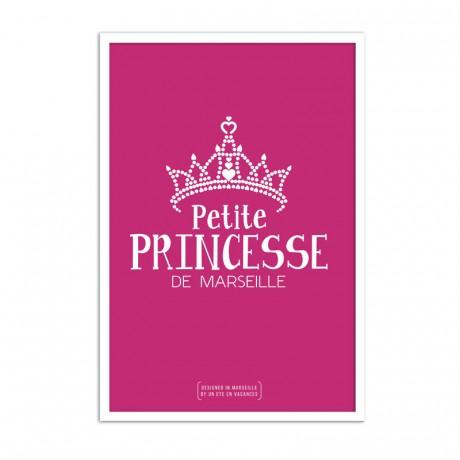 Affiche petite princesse de marseille