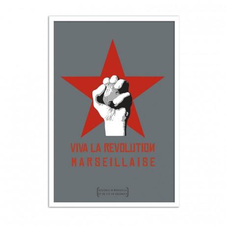 Affiche Viva la revolution