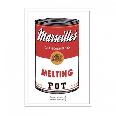 Affiche soupe marseillaise