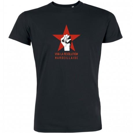 T-shirt Viva la revolution Marseillaise