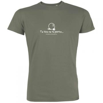 T-shirt Tu tires ou tu pointes