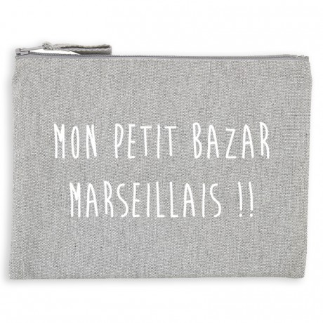 Pochette mon petit bazar marseillais