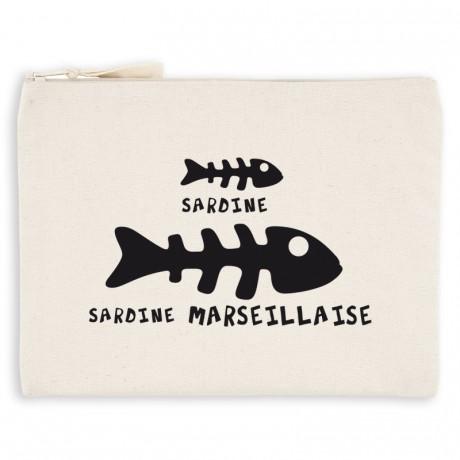Pochette marseillaise sardine marseillaise
