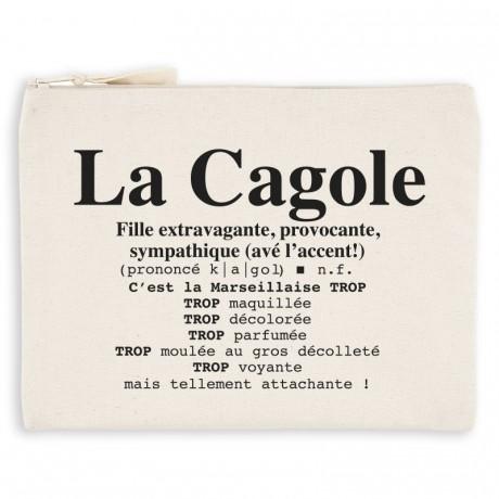 Pochette definition de la cagole marseillaise