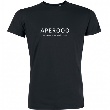 T-shirt apero confinement
