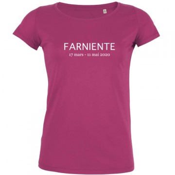 T-shirt farniente confinement