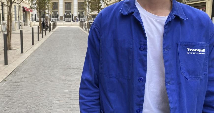 Bleu de travail marseillais